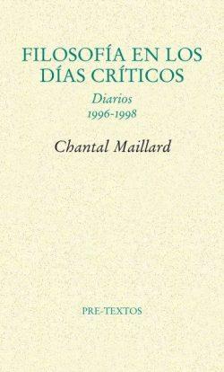 Filosofía en los días críticos